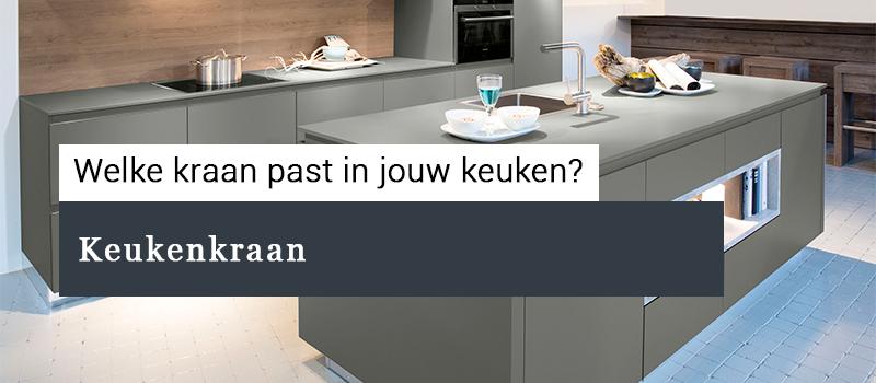 keukenkraan plaatsen of vervangen