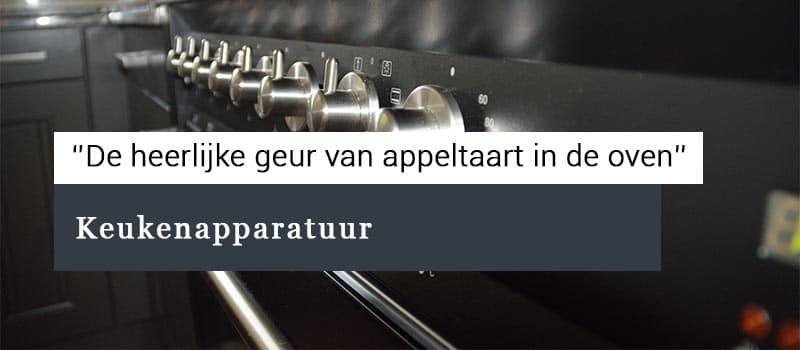 Nieuwe combi-magnetron of oven in de keuken